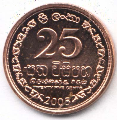 Changing Sizes Of Lankan Coins